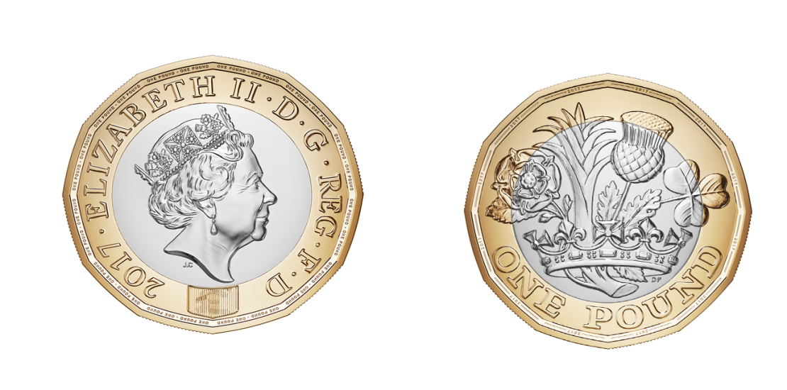 New 12- sided £1coin